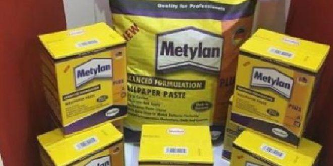چسب کاغذ دیواری metylan